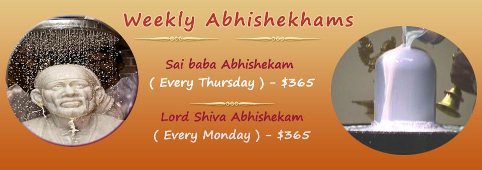 Weekly Abhishekam